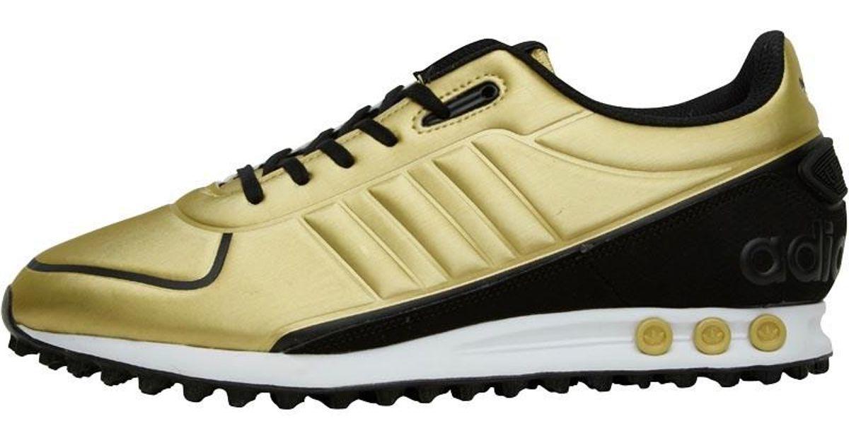 adidas Originals Synthetic La Trainer Ii Trainers Metallic ...
