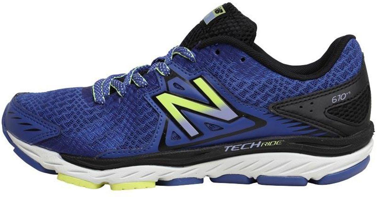huge selection of b05da d4214 New Balance W670 V5 Stability Running Shoes Blue/black