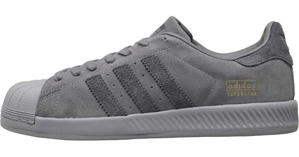 2c4b20dab adidas Originals Superstar Bounce Trainers Grey One grey grey Five in Gray  for Men - Lyst