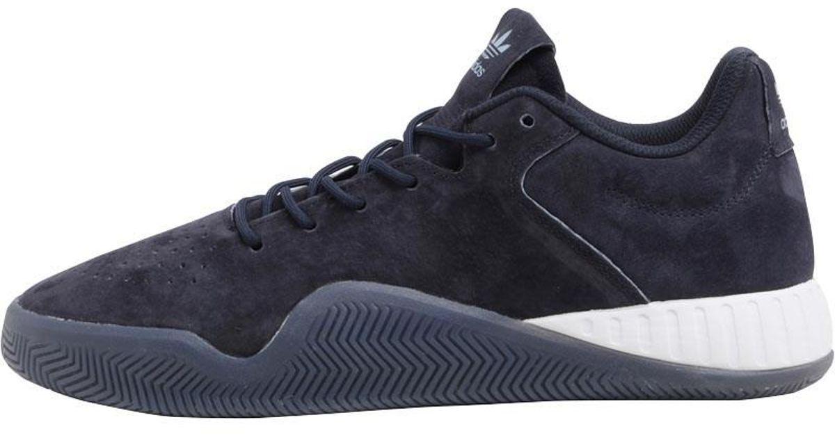 finest selection d7047 697ec Adidas Originals Tubular Instinct Low Trainers Legend Ink/tactile  Blue/footwear White for men