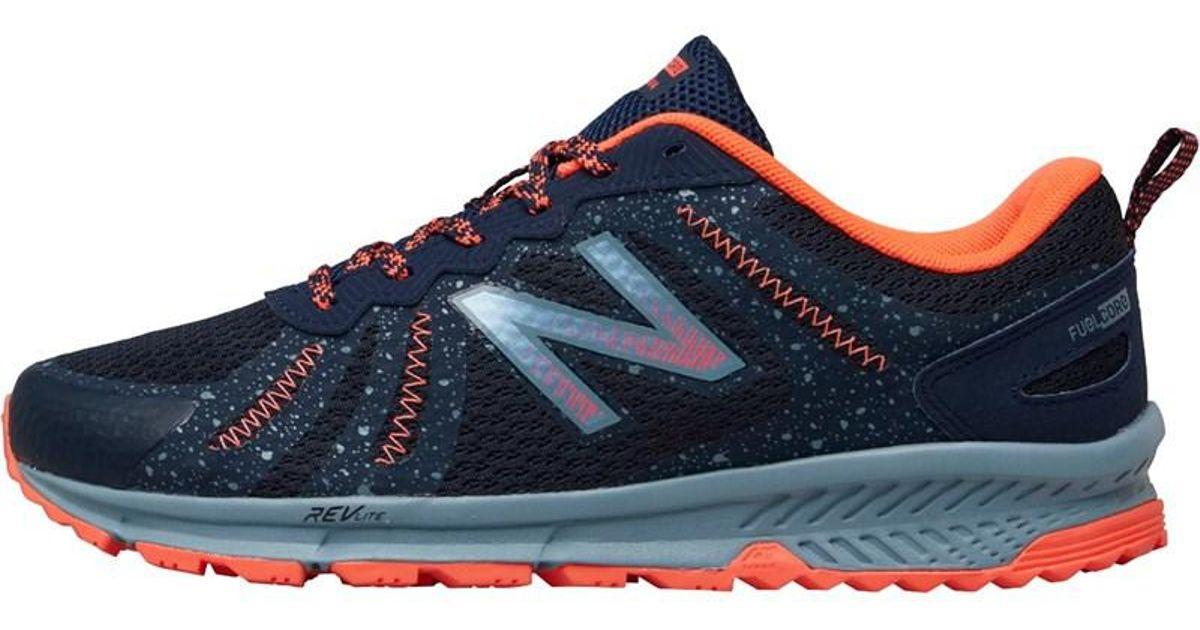 33ecde653c6a New Balance Mt590 V4 Trail Running Shoes Galaxy In Blue Lyst