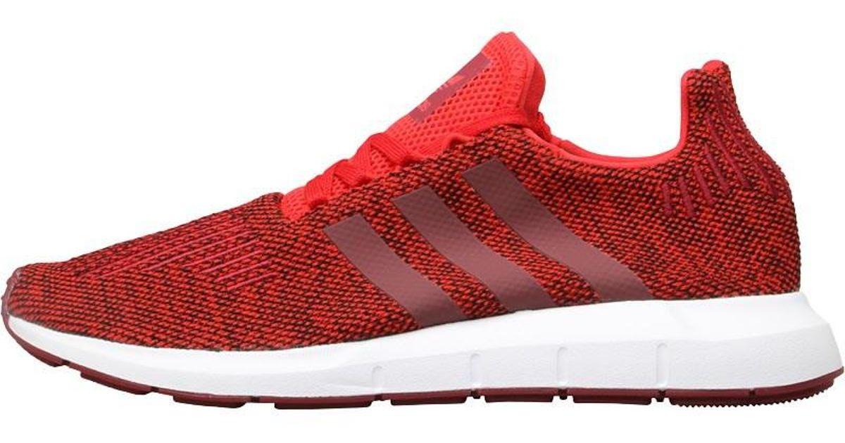 adidas Originals Swift Run Trainers Red collegiate Burgundy footwear White  in Red for Men - Lyst 22e6ba719