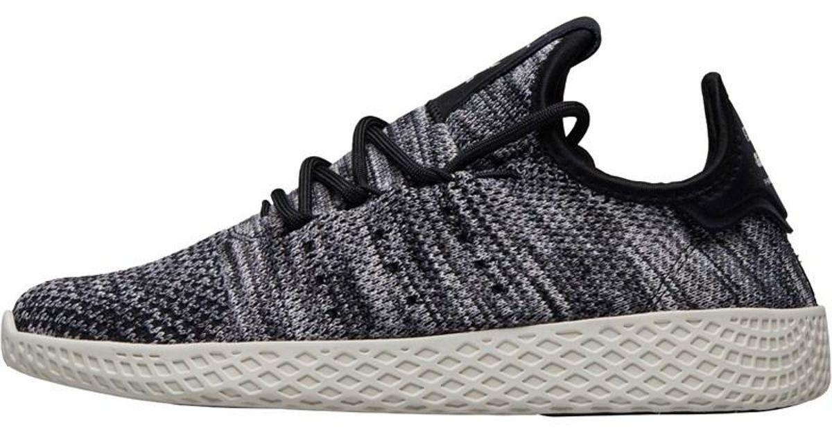 new products cc6cf 642a9 Adidas Originals X Pharrell Williams Tennis Hu Primeknit Oreo Trainers Core  White/core Black/footwear White for men