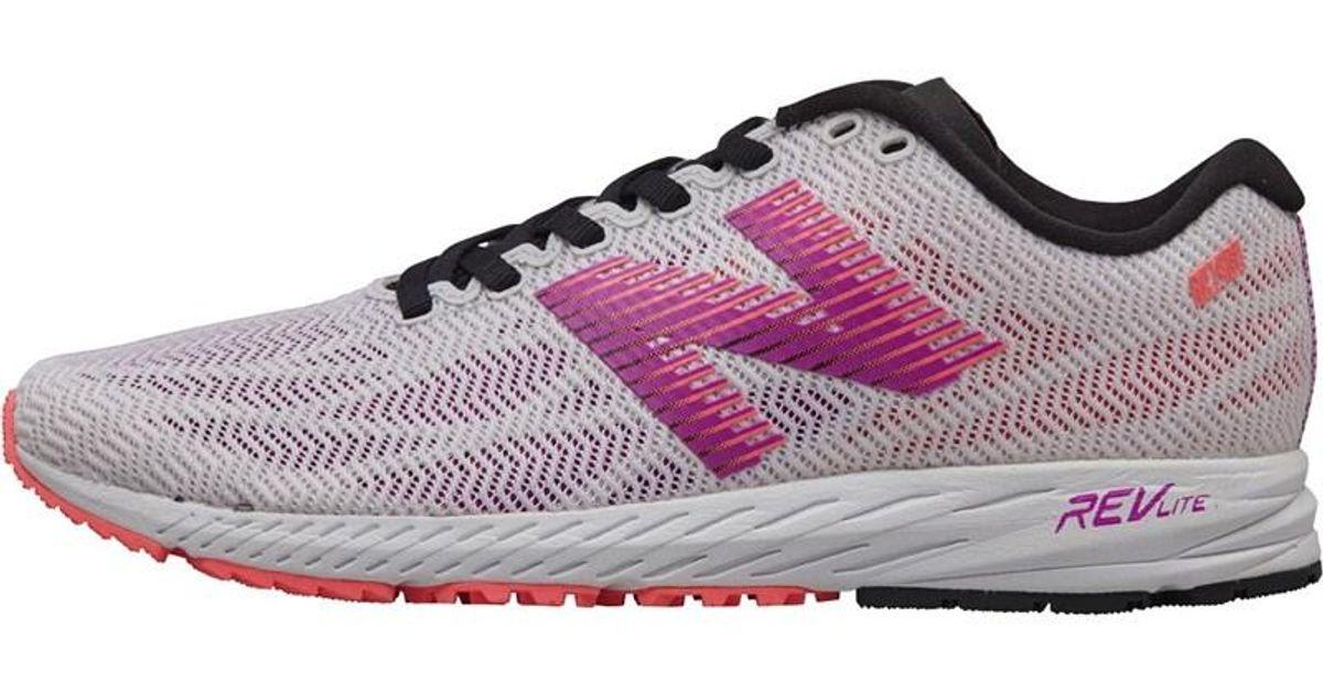 Ennegrecer web Conjugado  New Balance W1400 V6 Lightweight Speed Neutral Running Shoes White/purple -  Lyst