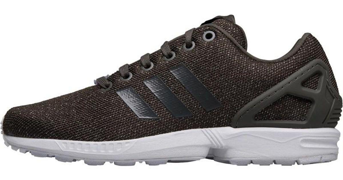 bbf8b0d4a adidas Originals Zx Flux Trainers Utility Grey utility Black silver Metallic  in Gray - Lyst