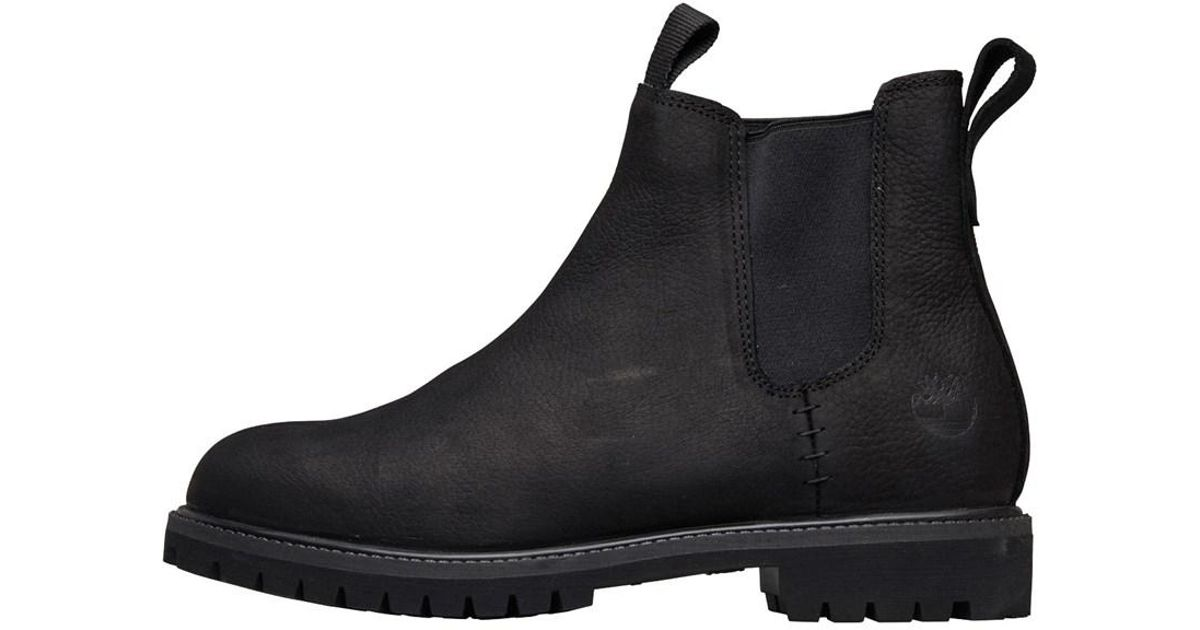 3019d161dca Timberland 6 Inch Premium Chelsea Boots Jet Black for men