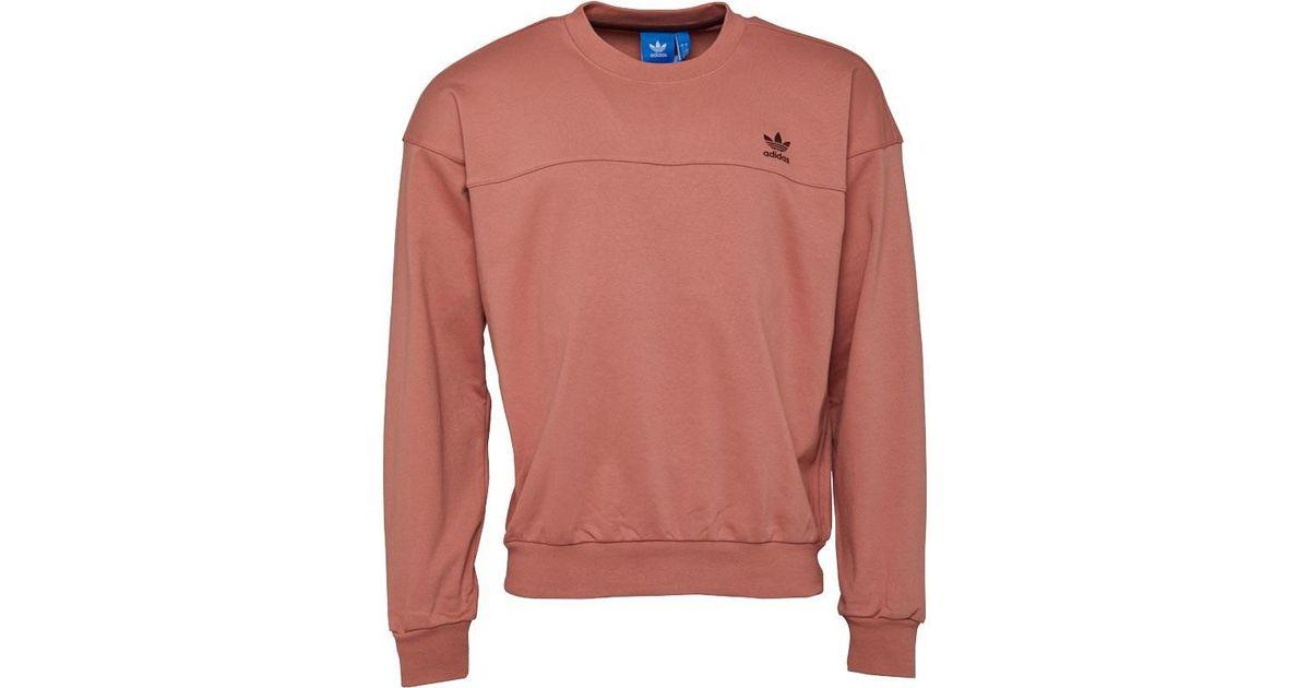 364aeb15d adidas Originals Fallen Future Modern Crew Neck Sweat Raw Pink in Pink for  Men - Lyst