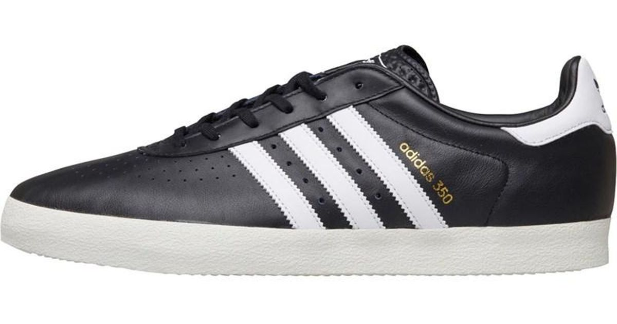 c0b6aa427 adidas Originals 350 Trainers Core Black footwear White off White in Black  for Men - Lyst