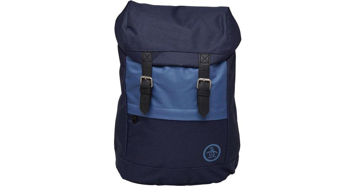 Original Penguin Torrent Backpack Navy vintage Indigo in Blue for Men -  Save 12% - Lyst 5aa3c5b8907a4