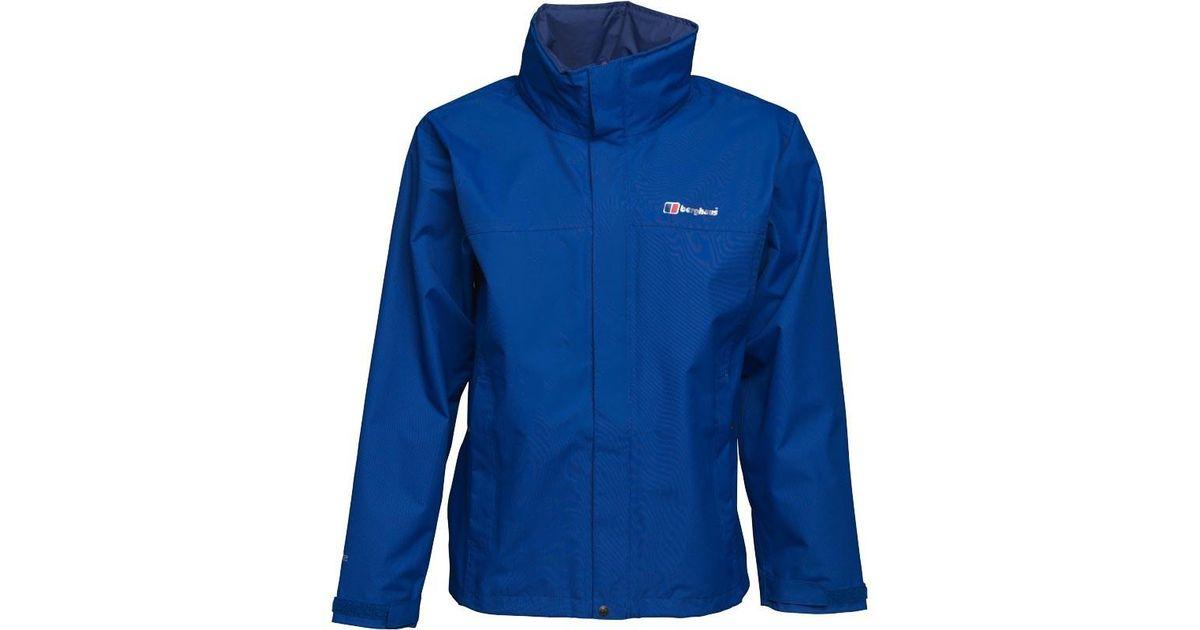 on sale c4086 3b1dc Berghaus Carperby Hydroshell Jacket Intense Blue for men