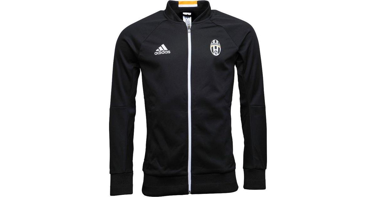 hot sale online 08605 3de36 Adidas Jfc Juventus Anthem Jacket Black/white/gold for men