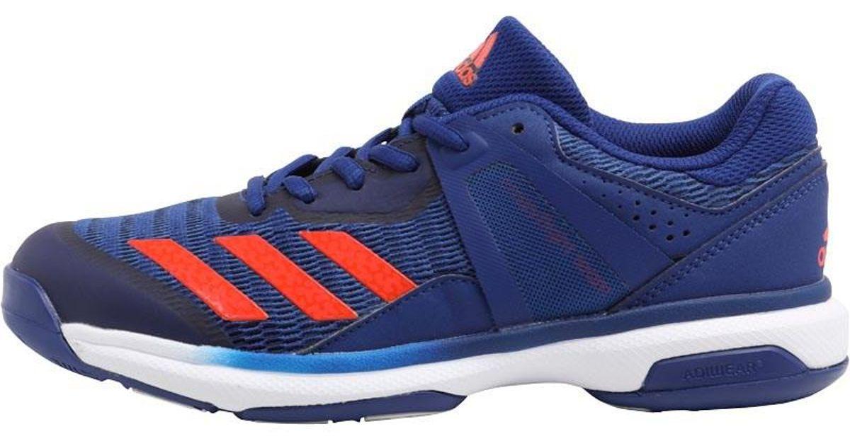 d1eacab8cece4 Adidas Crazyflight Team Volleyball Shoes Mystery Ink/blaze Orange/mystery  Blue