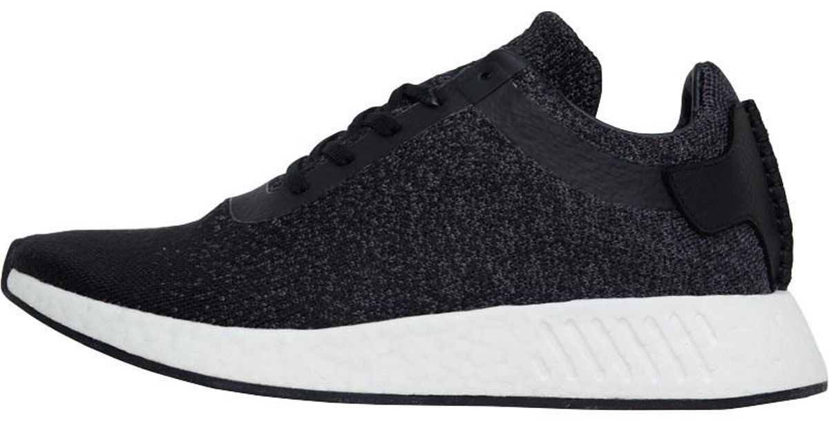 sports shoes b9908 d9289 Adidas Originals X Wings + Horns Nmd_r2 Primeknit Trainers Core  Black/utility Core Black/grey Five for men