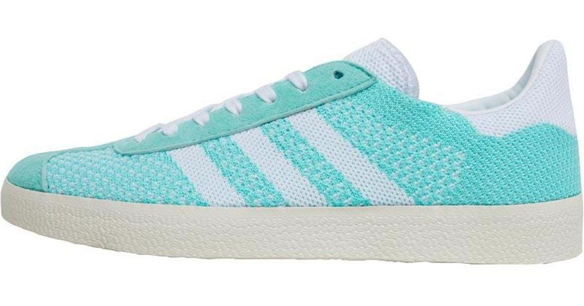 7d98d947 adidas Originals Gazelle Primeknit Trainers Easy Green/footwear White/chalk  White in Green - Lyst