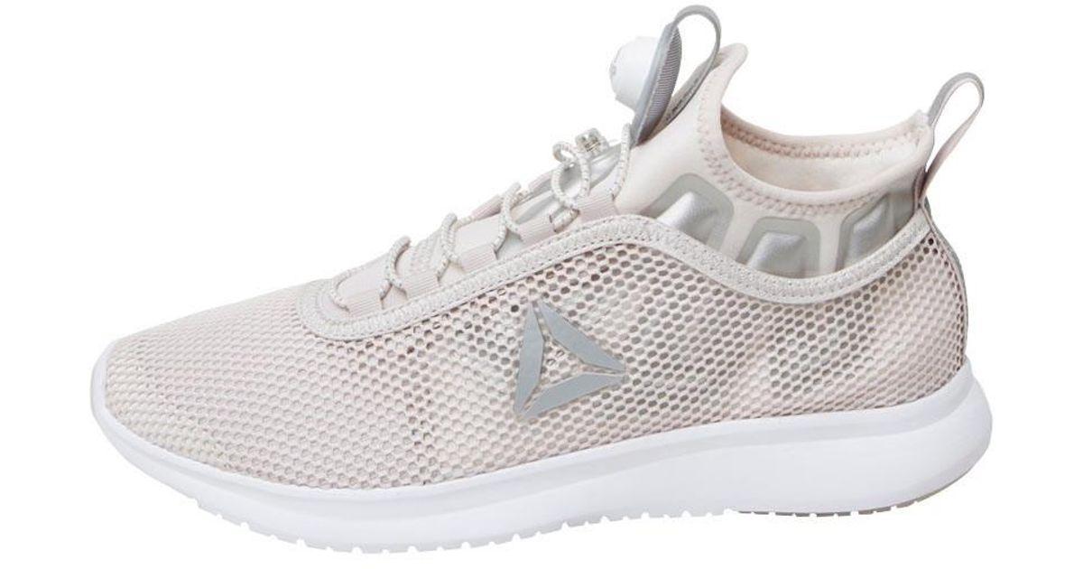 da4b877a25e8 Reebok Pump Plus Neutral Running Shoes Lilac Ash white silver in White -  Lyst