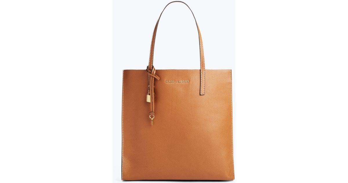 add3c1d7e3ca Lyst - Marc Jacobs The Grind Shopper Tote Bag in Brown