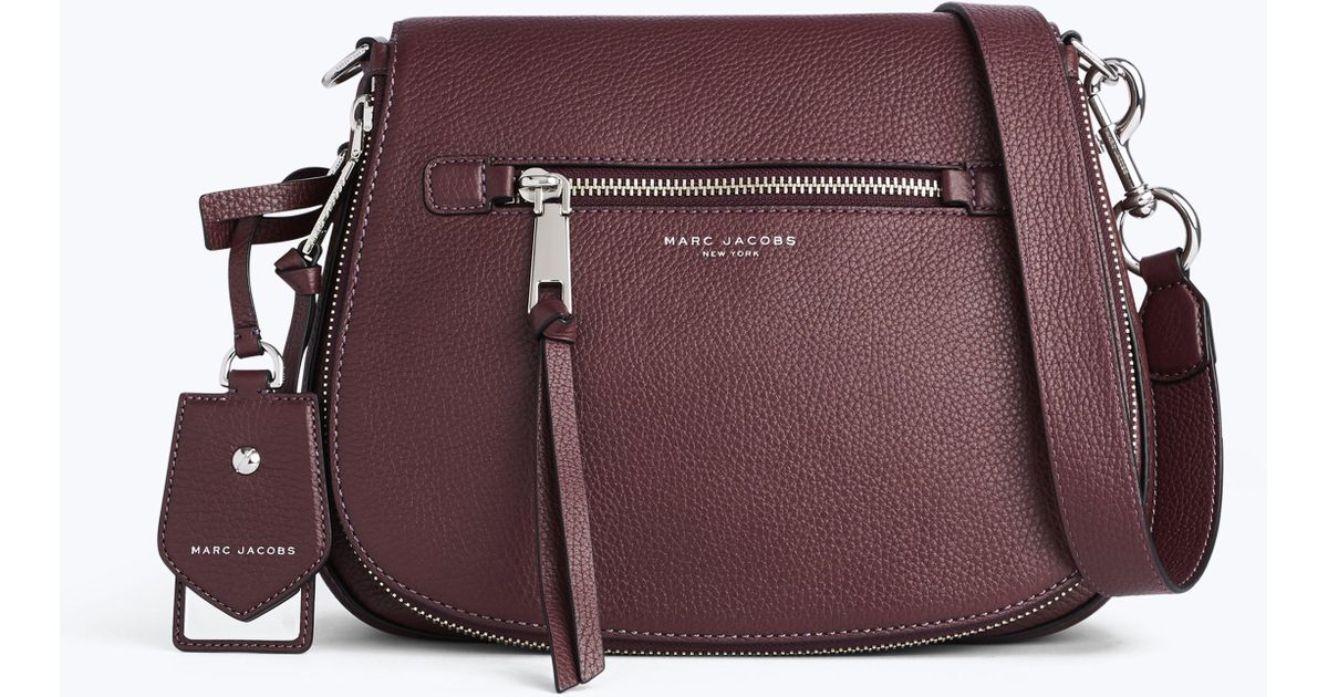 e1bbf36370fc Lyst - Marc Jacobs Recruit Small Nomad Saddle