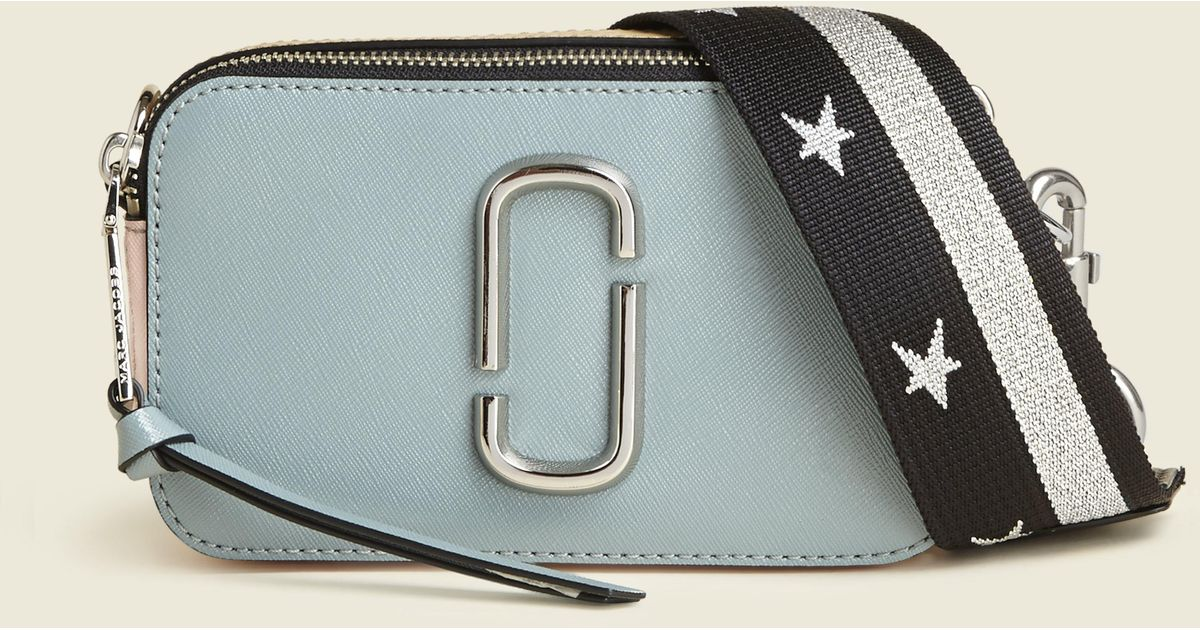 1e616fb9dfdf7 Marc Jacobs Snapshot Small Camera Bag in Blue - Lyst