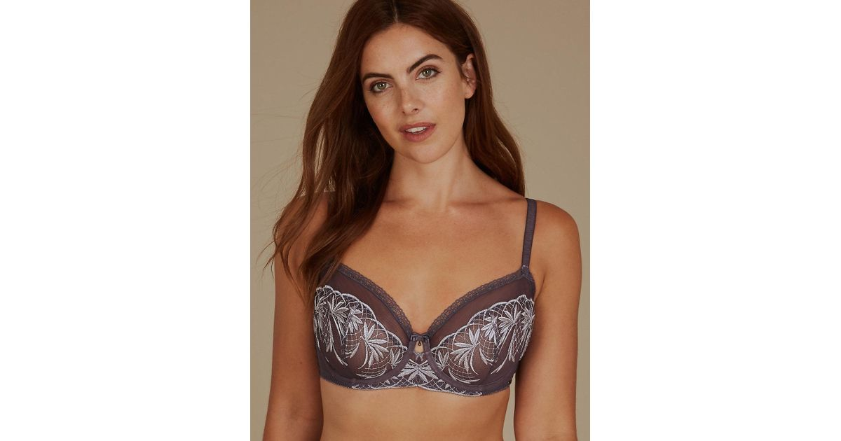 M/&S 2 PACK NON PADDED UNDERWIRE BALCONY BRAS RRP £18