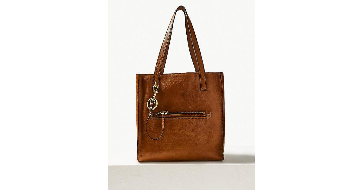755b9bc5a218 Lyst - Marks   Spencer Leather 3 Compartment Tote Bag in Brown