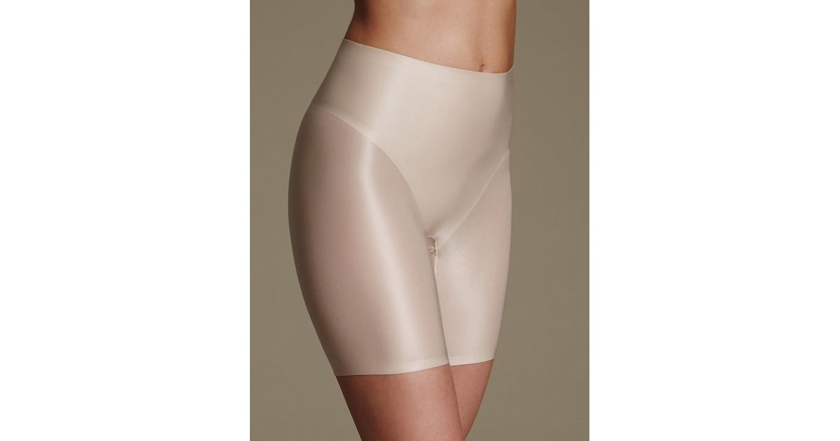 859391d5fab Lyst - Marks   Spencer Light Control Sheer Shaping Thigh Slimmer