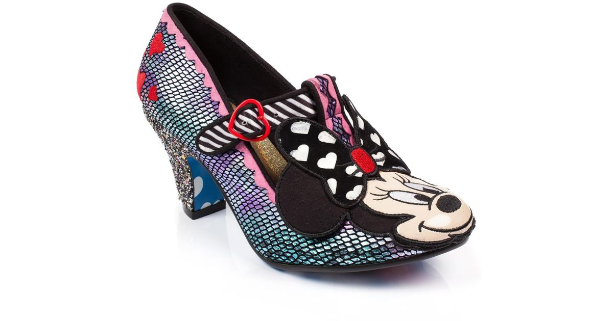 Minnie Shoes Heart High I Choice Heel Irregular Multicolor 08wNmn