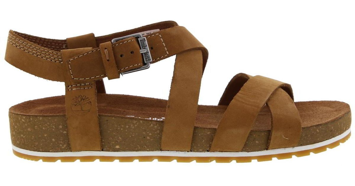 Timberland Brown Malibu Waves Ankle Sandals