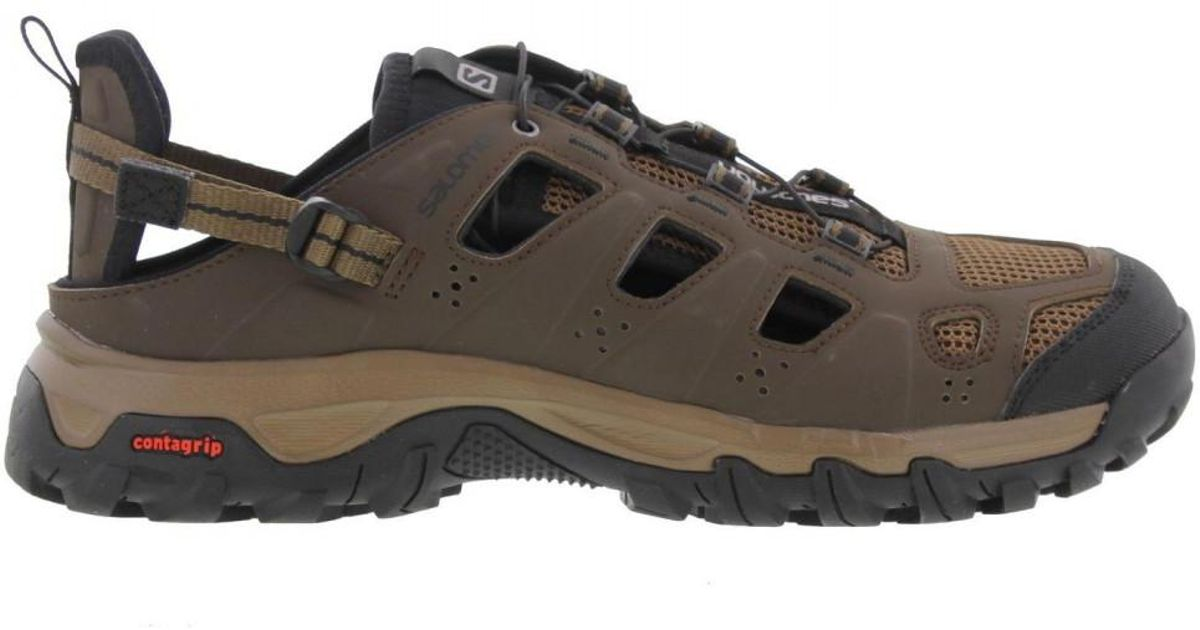 c14060993f9f Yves Salomon Evasion Cabrio Walking Trainers Sandals Shoes in Brown for Men  - Lyst