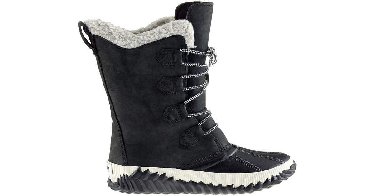 bb3ad051b9e Sorel Out N About Plus Tall Waterproof Walking Snow Boots in Black - Lyst