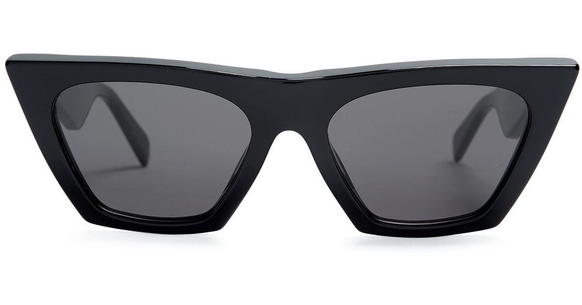 1509b3264ad7 Cat-eye Acetate Sunglasses Celine