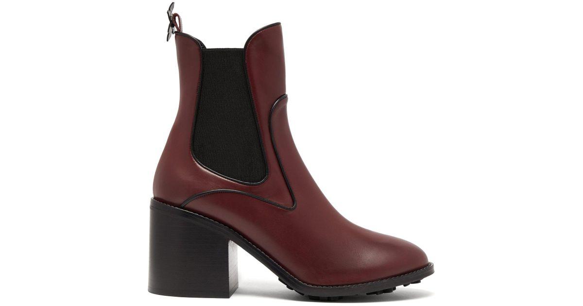 16806e706f010 Lyst - Fabrizio Viti Madison Leather Ankle Boots