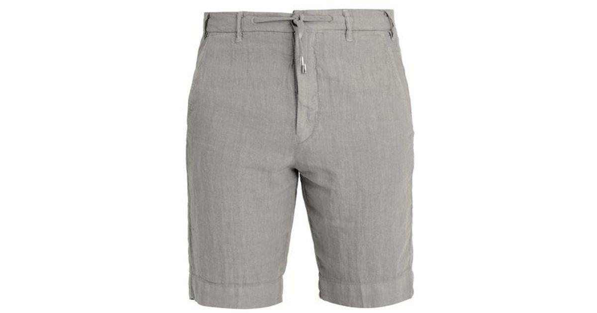 lino con de J Shorts cordón ajustable w 5BASwFxwq