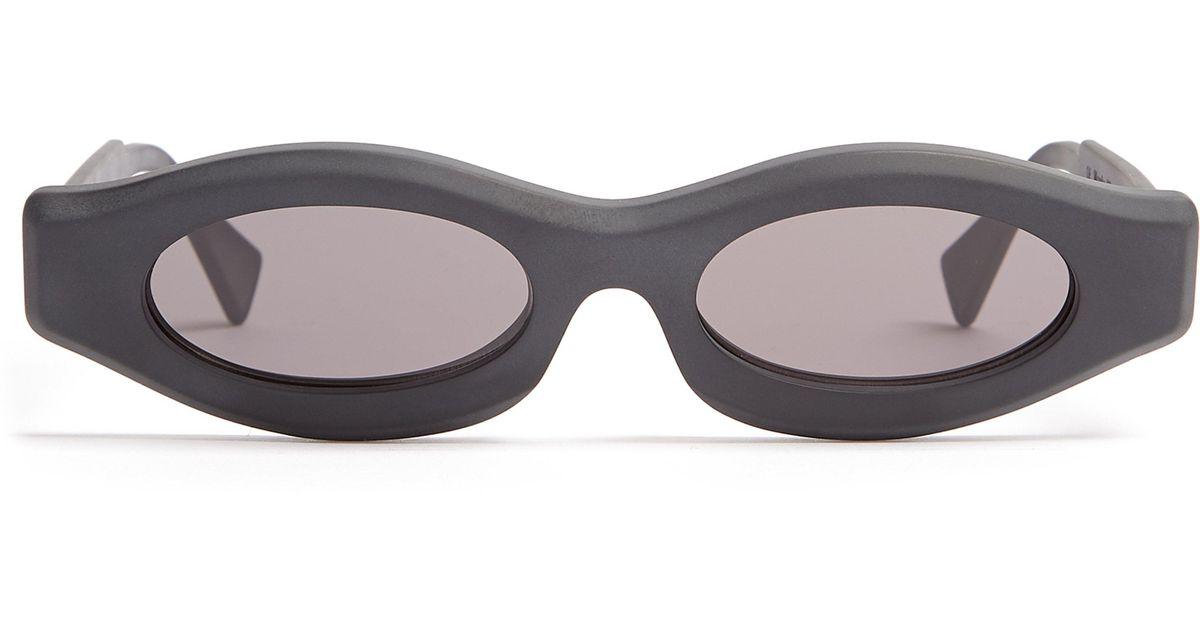 92d25dba3d rectangular de de Lyst Kuboraum sol de en Gafas hombres de negro para  acetato marco wqBSRCY