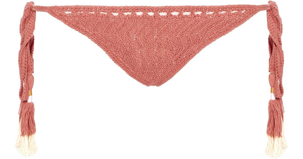 Laharia Tie-Side crochet bikini briefs She Made Me Cheap Factory Outlet Order Cheap Online Cheap Sale Supply potFU4Wr