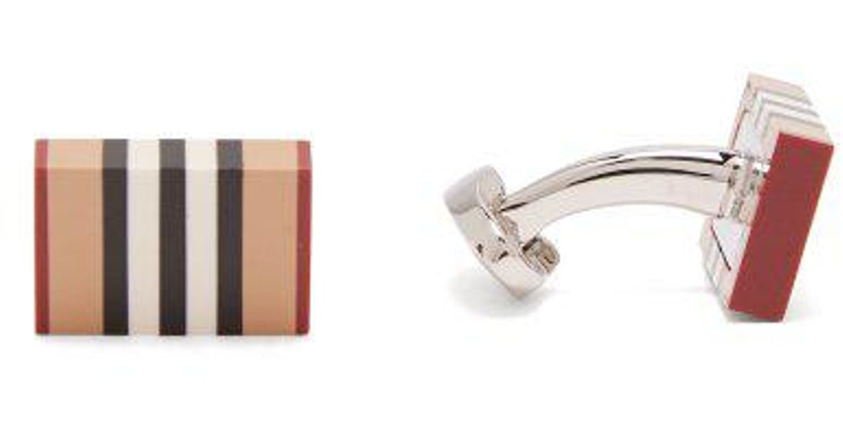 Burberry Heritage stripe cufflinks 8nxhUq