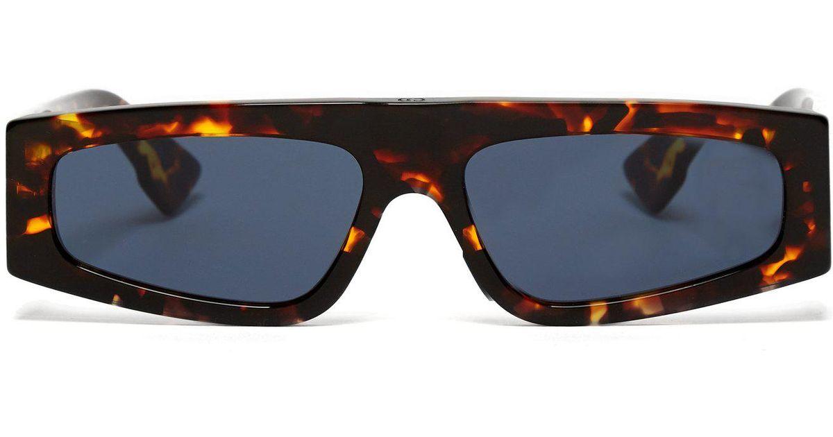 fedc7c9054411 Dior Power Tortoiseshell Acetate Sunglasses in Blue - Lyst