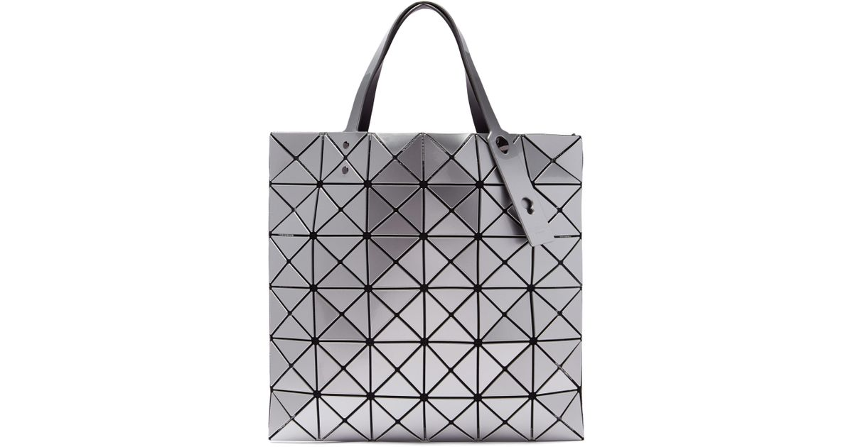 3a8cec4cfdee Bao Bao Issey Miyake Lucent Gloss Tote in Metallic - Lyst