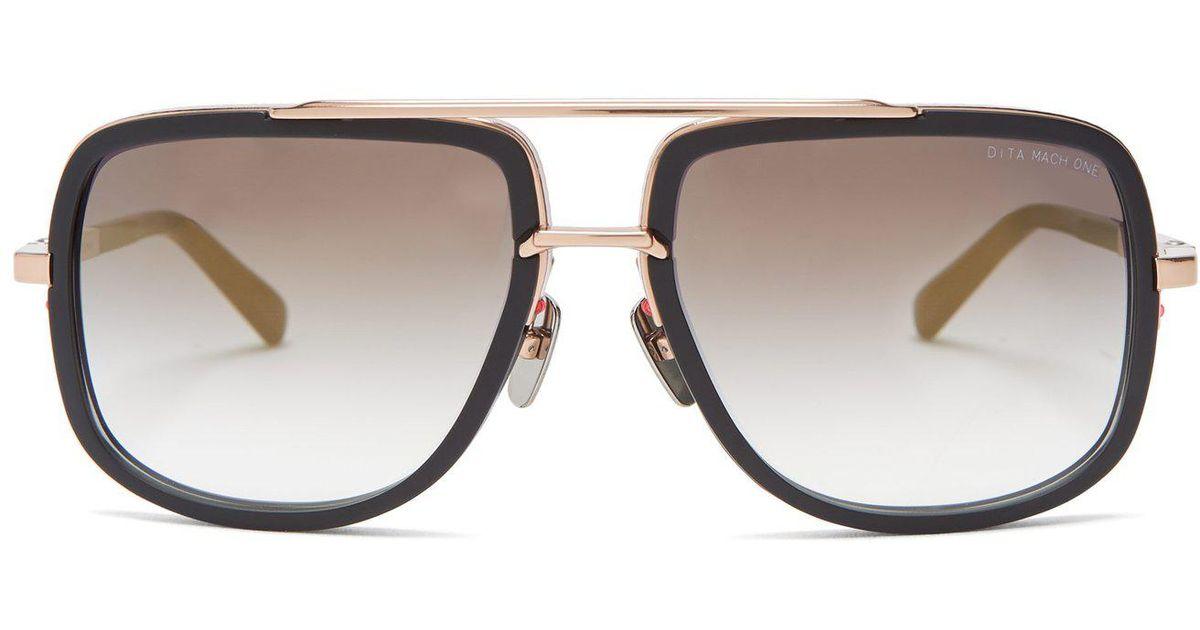 868bf8a9447 Lyst - Dita Eyewear Mach-one Titanium Sunglasses in Black for Men