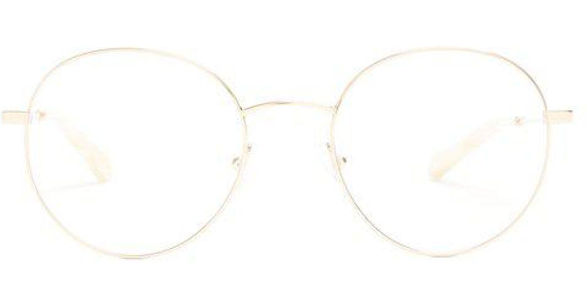 5d692e4f Chloé Metallic Mini Round-frame Glasses