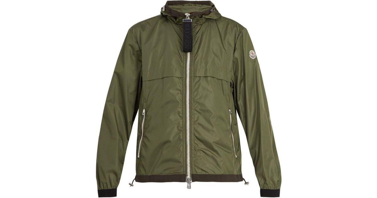 85bbde29d Moncler Green Alshat Zip Through Jacket for men