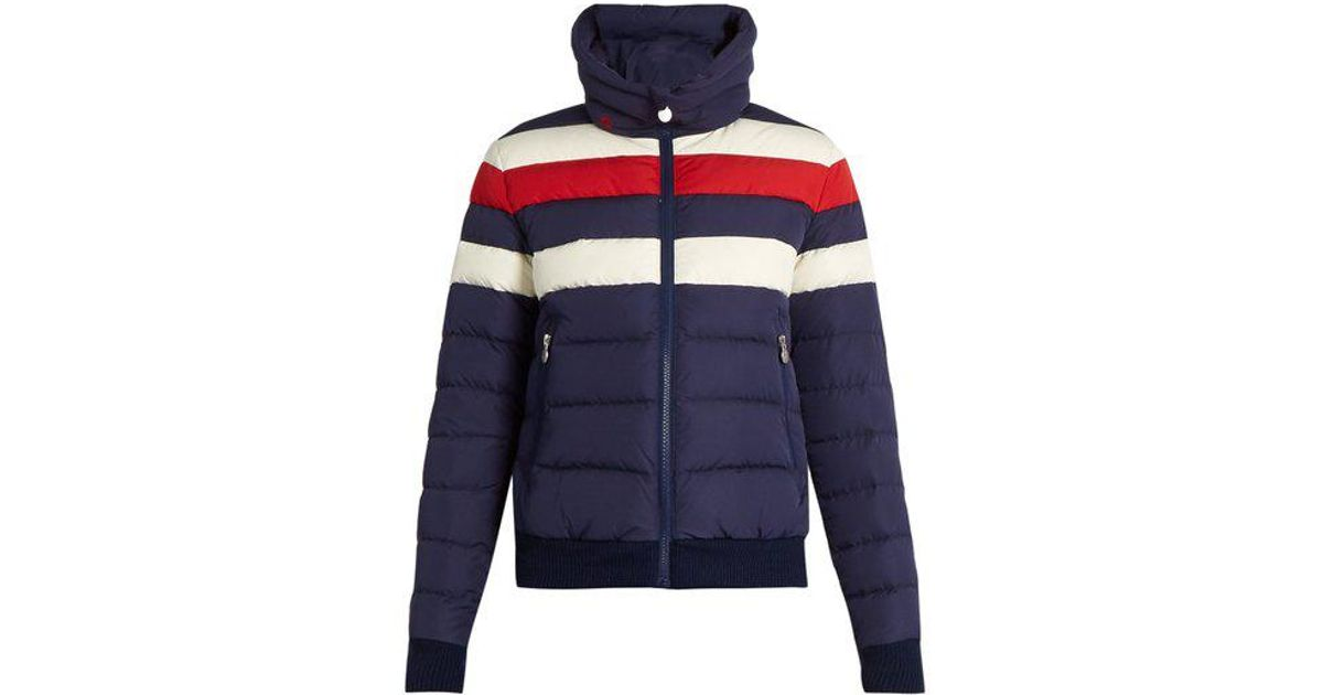 30817a70ae2 Perfect Moment Queenie Down-padded Ski Jacket in Blue - Lyst