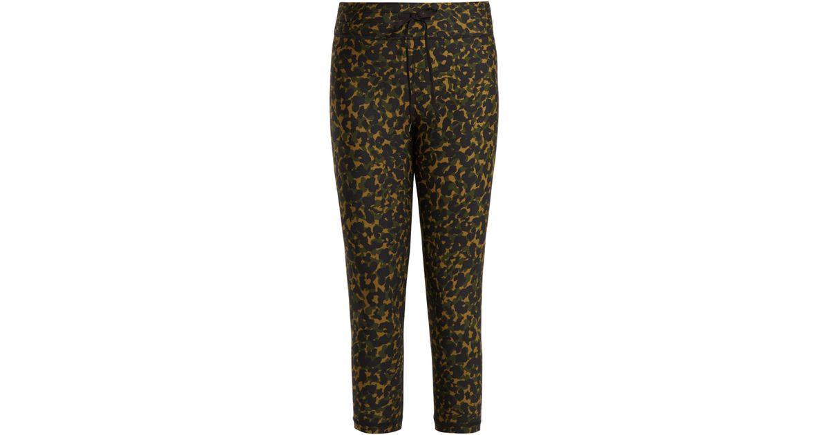 b78236e869999a The Upside Nyc Leopard Camo Print Leggings in Green - Lyst