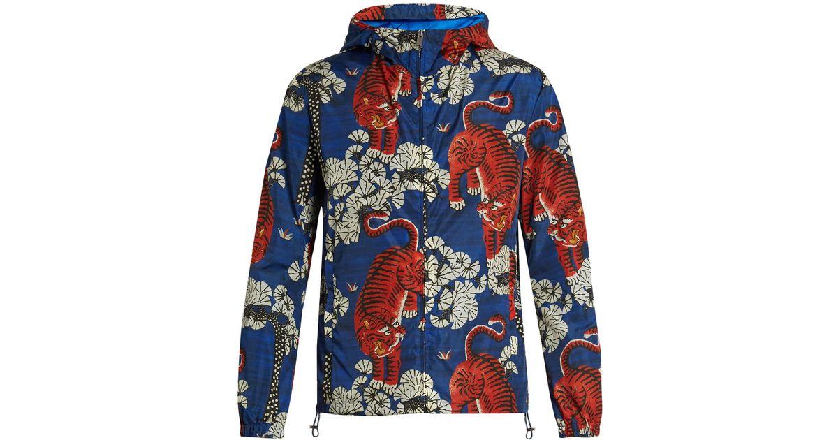 gucci blue tiger jacket