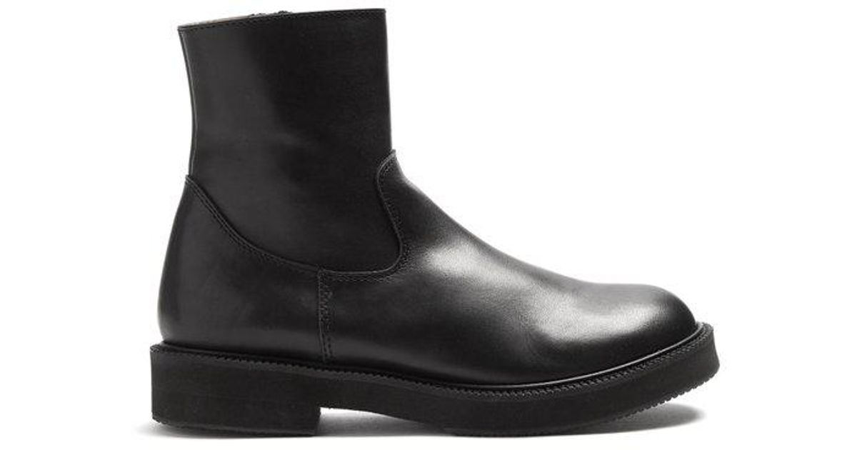 Outlet 2018 Newest JUNYA WATANABE Smooth-leather ankle boots Discount Explore Cheapest For Sale zKWqbNPugW