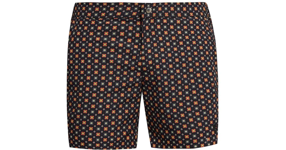 4541195ed9 Lyst - Alexander McQueen Floral-print Swim Shorts in Blue for Men - Save 18%