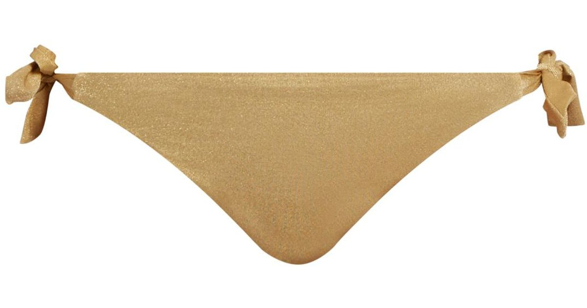 Sale In China Carmel tie-side bikini briefs Biondi Purchase For Sale Cheap Limited Edition Classic Sale Cheapest Price yidXvl