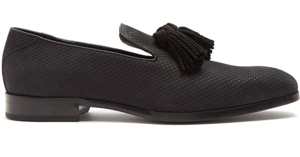 buckle embellished loafers - Black Jimmy Choo London 8X7kRM