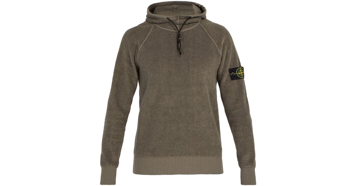 b183c6ba5533 Lyst - Stone Island High-neck Terry-towelling Sweatshirt for Men