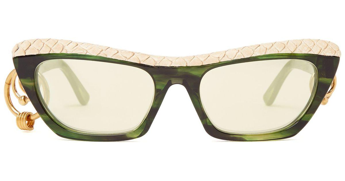 aa0c90a0c5 Acne Studios Dielle Temple Hoop Sunglasses - Lyst