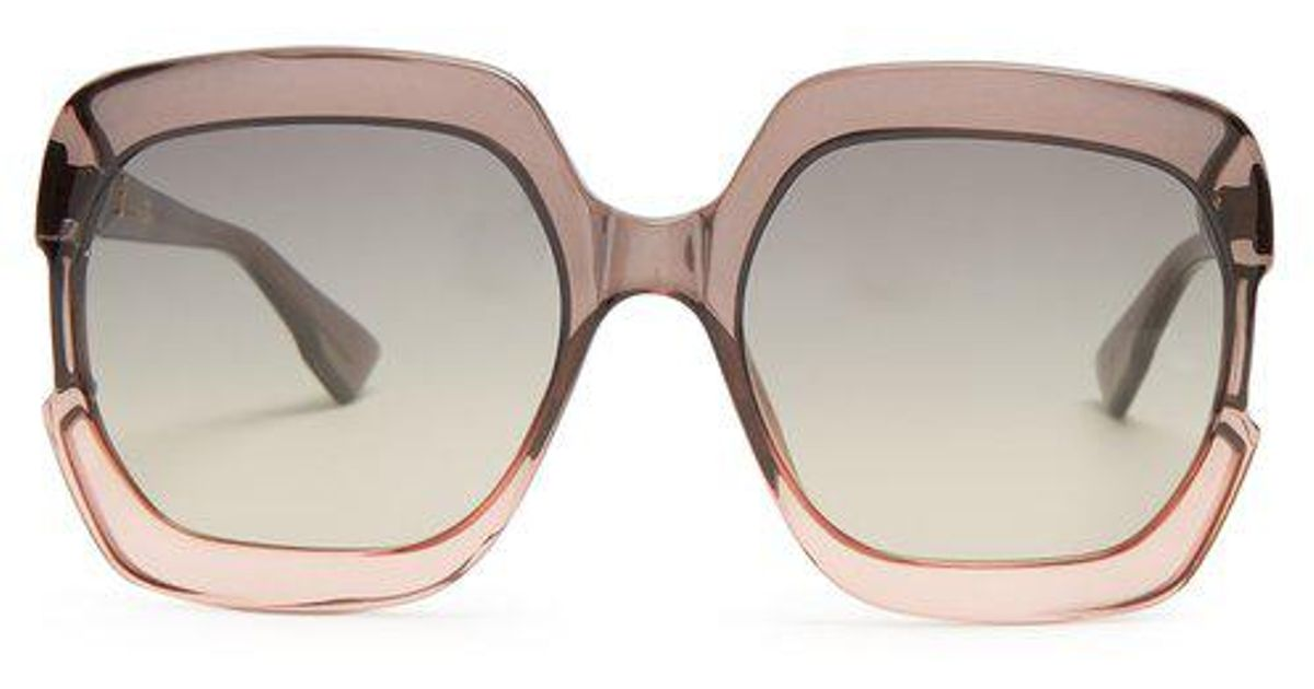 Gaia square-frame acetate sunglasses Dior AqHmI